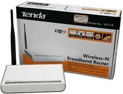 Cấu hình Router Wireless Tenda W311R