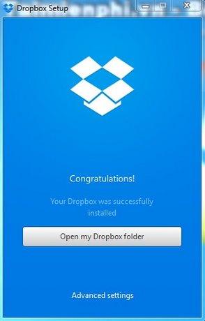 Hướng dẫn tạo tài khoản Dropbox, lưu trữ file trực tuyến 4