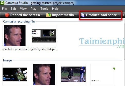 Tạo ảnh động Gif từ Video bằng Camtasia Studio