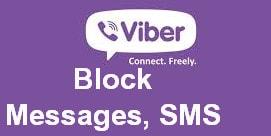 Chan tin nhan rac viber