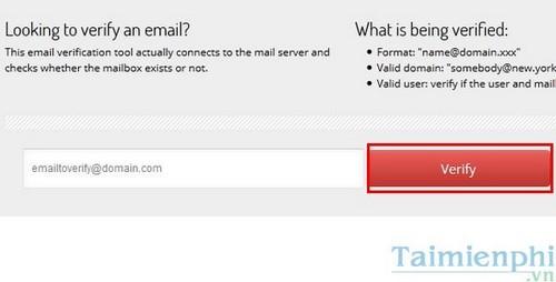 Kiểm tra email có tồn tại không, cách check email còn tồn tại hoặc bị xóa. 2