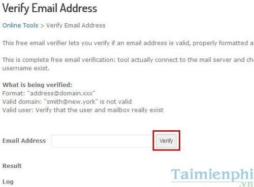 Kiểm tra email có tồn tại không, cách check email còn tồn tại hoặc bị xóa. 4
