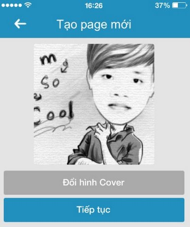 dang ky zalo page tren android