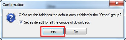Free Download Manager - Thay đổi đường dẫn thư mục tải về