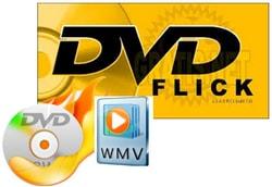 Ghi dvd tu file wmv bang DVDFlick