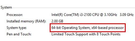 ... 32bit hay 64 bit (Ở đây là Win 64bit) Kiem tra phien ban cua windows