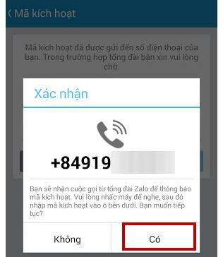 Retrieve password Zalo, Zalo retrieve forgotten passwords like?