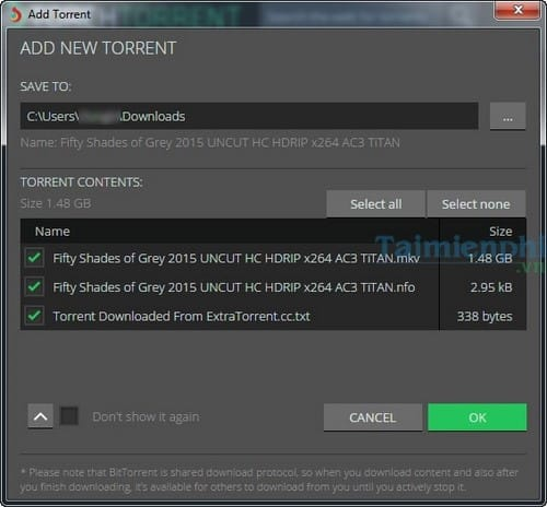 Download Torrents files with browsers Torch Browser