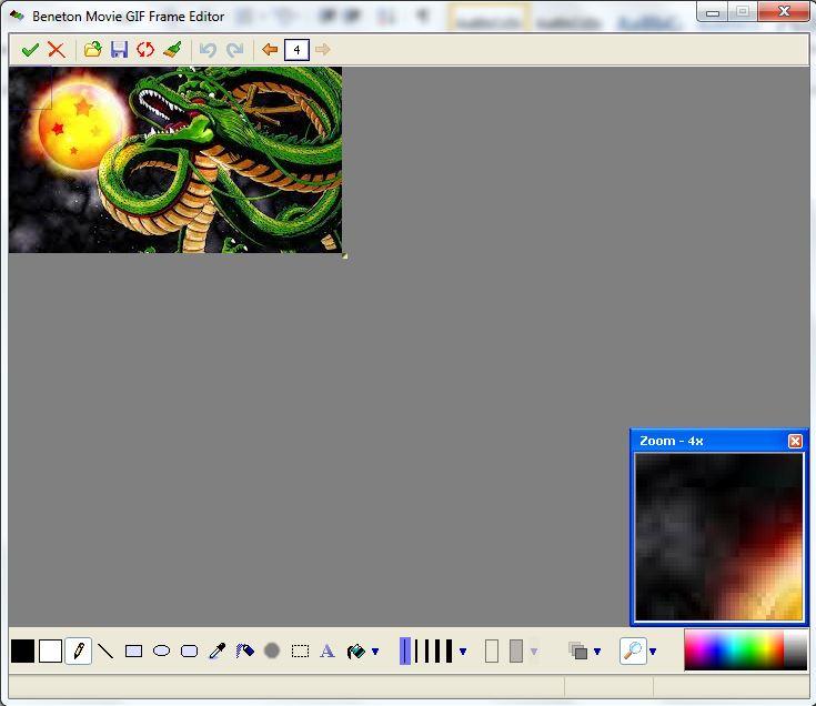 Cách tạo ảnh động bằng Beneton Movie GIF