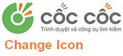 Thay doi icon coc coc