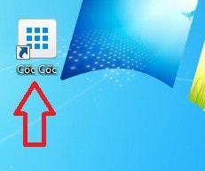 Đổi icon Cốc Cốc, thay đổi biểu tượng CocCoc ngoài Desktop máy tính