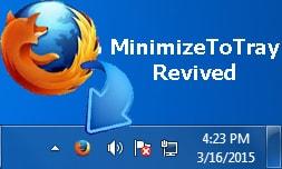 Thu nhỏ Firefox trên System tray bằng phím tắt