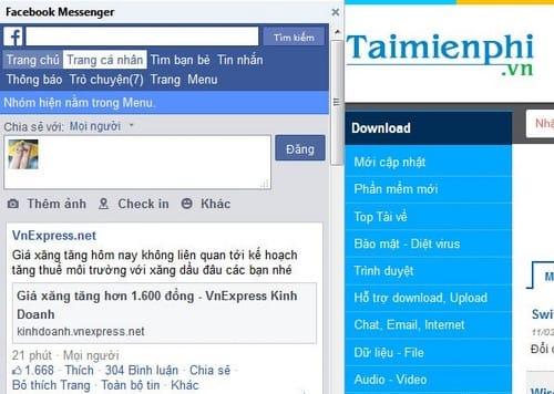 Tiện ích giúp truy cập Facebook đơn giản hơn ngay trên Firefox