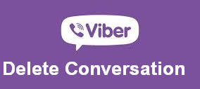 Xoa lich su chat viber tren may tinh