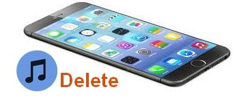 Xoa nhac tren iphone