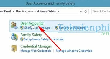 manage family account