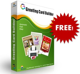 giveaway greeting card builder