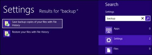 cach backup va restore windows 8