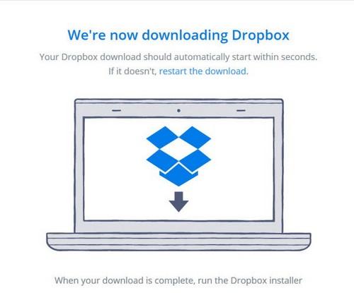 Đăng ký Dropbox, tải và lưu file trực tuyến miễn phí 9