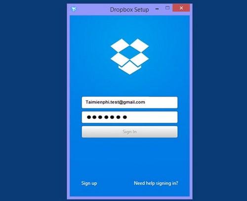 Đăng ký Dropbox, tải và lưu file trực tuyến miễn phí 11
