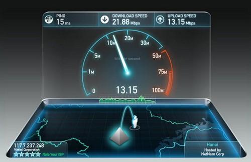 Download Speed, Upload Speed trong kiểm tra tốc độ mạng Speedtest là gì