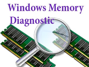 check ram voi windows memory diagnostic