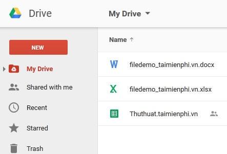 phuc hoi du lieu tren Google Drive