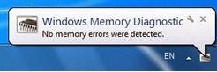 thẩm tra Ram, check Ram trên máy tính bằng Windows Memory Diagnostic