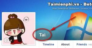 Cách đổi tên Facebook 1 chữ bằng Google Chrome