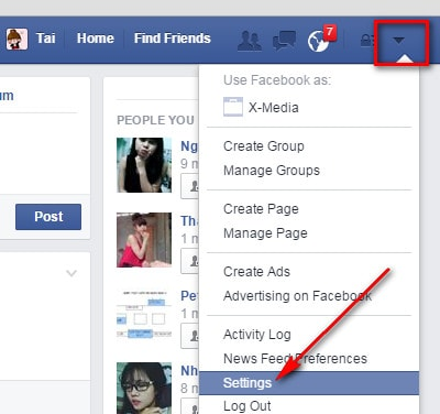 How to change the name Facebook 1 word using Google Chrome