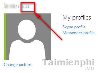 Cách đổi tên hiển thị trong Outlook