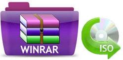 Mở file iSO, giải nén file iSO bằng WinRAR