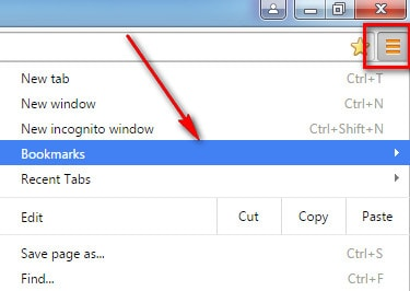 where and how to find and delete bookmarks