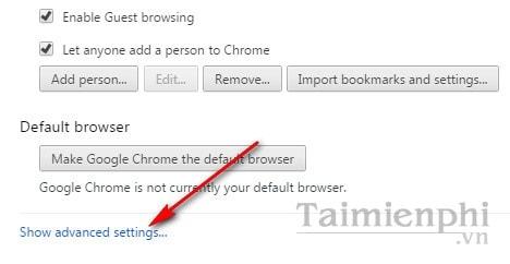 Đổi thư mục tải về trên Chrome, thay đổi folder tải xuống trên trình duyệt Google Chrome