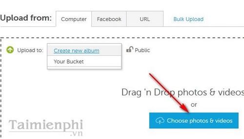 Up ảnh lên Photobucket, đăng ký Photobucket, lưu trữ ảnh trực tuyến