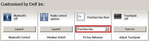 Cách bật, tắt phím chức năng FN + F1, F2, F3, ... F12 trên Laptop 4