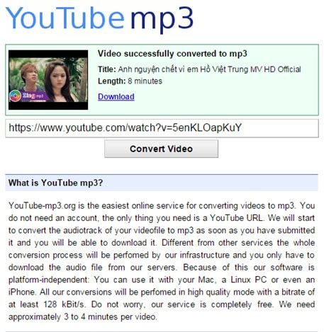 download youtube videos and convert to mp3 online