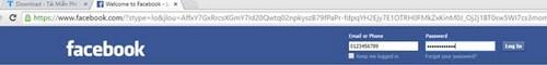 dang nhap facebook login facebook bang mail so dien thoai