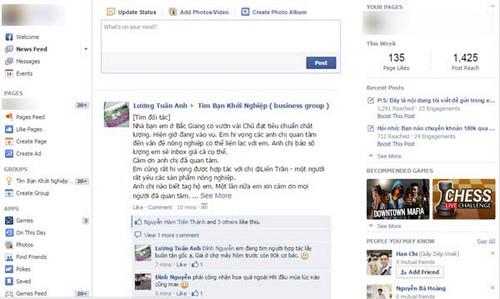 Sử dụng giao diện facebook cũ bằng OldNewsFeed