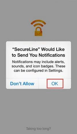 duyet web an danh avast secureline tren iphone