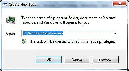 may tinh chi hien desktop khong co taskbar, may tinh khong hien bieu tuong taskbar, may tinh loi taskbar