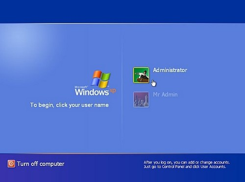 Cách phá password máy tính Win 7, XP 2