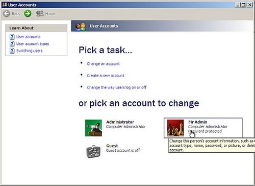 Cách phá password máy tính Win 7, XP 5