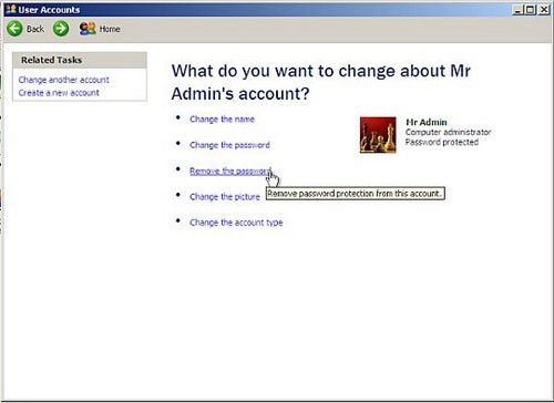 Cách phá password máy tính Win 7, XP 6