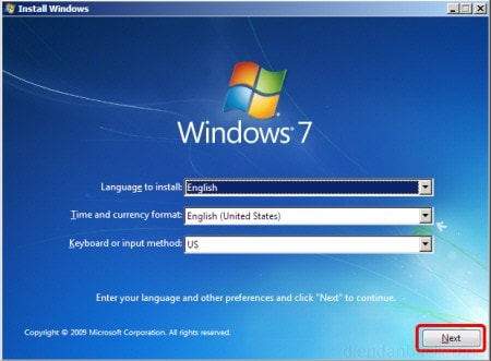 repair win 7 bang dia usb