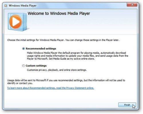 su dung windows media player 12