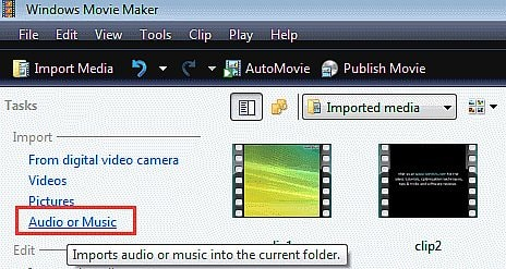 lam video windows movie maker