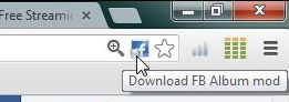tai anh facebook bang Download FB Album mod