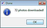 Tải album ảnh Facebook bằng PhotoGrabber