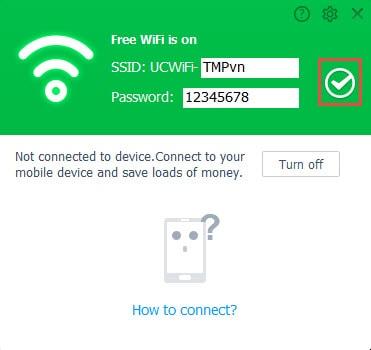 Hướng dẫn phát wifi bằng UC browser trên PC5